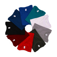 VOEY Black (Kaos polos katun bambu hitam, Cotton Bamboo T-Shirt )