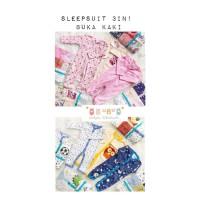 sleepsuit buka kaki 3 in 1 carter / baju tidur bayi / piyama bayi