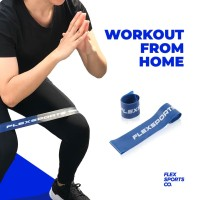 Flex Resistance Band (Light) - Mini Loop Band Fitness/Exercise by Flex