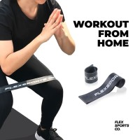 Flex Resistance Band (Heavy) - Mini Loop Band Fitness/Exercise by Flex