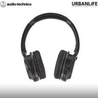 Audio Technica S200Bt Wireless Headphones - Black Red Jujurshop12