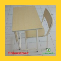 D08 bangku kursi meja sekolah untuk anak sd/smp