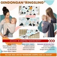 GENDONGAN BAYI RING SLING / GENDONGAN RINGSLING / GENDONGAN KAIN