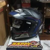 Helm fullface Arai Tour Cross 3 Vision Grey SNI original garansi 5th