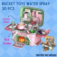 Mainan Anak Memasak Keranjang-Kitchen Set Keranjang Mainan Anak Edukas