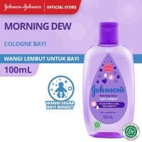 JOHNSON'S Morning Dew Baby Cologne - Minyak Wangi Bayi 100ml