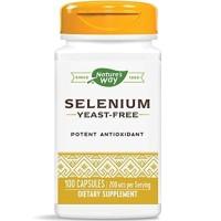 Natures Way Selenium 200 mcg 100 Capsules