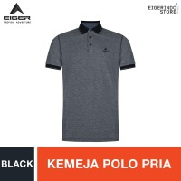 Eiger Mountain Club MT Polo Shirt - Black - S