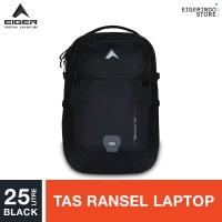 Eiger Digivault 3.0 Laptop Backpack 25L - Black