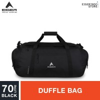 Eiger Hometown Duffle Bag 70L - Black