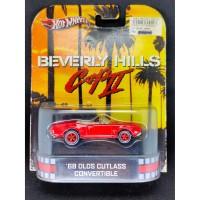 Hot Wheels Retro 68 Olds Cutlass Beverly Hills Cop Hotwheels Ban Karet