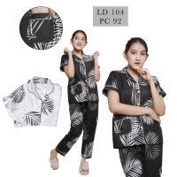 Baju Tidur wanita/Piyama Cewe Motif Big coco