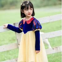 Dress Baju Costume Kostum Gaun Princess Snow White Putri Salju