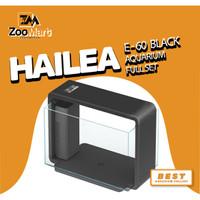 Hailea E-60 Aquarium Full Set / Aquarium / Lampu Aquarium / Filter