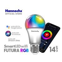 Hannochs Smart LED Futura 14 watt RGB - Lampu Wifi Warna