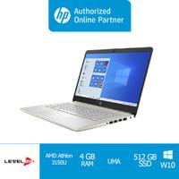 Laptop HP 14s-dk1123AU/Gold-(1X9Y8PA)/Athlon Gold 3150U- Free OHS 2019 - Non Screen