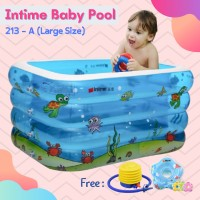 Kids Heaven - Kolam Spa Intime Kotak baby POOL bath rectangle