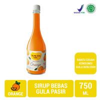 Sirup tropicana slim 750 ml orange/sirup rendah gula promo murah