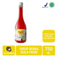Sirup tropicana slim 750 ml cocopandan /sirup rendah gula promo murah