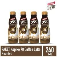Kopiko 78C Coffee Latte kuartet