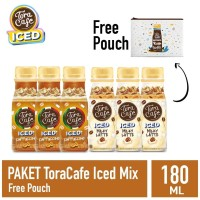 Paket Toracafe Iced Mix Free Pouch