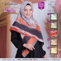 SESER08 - Jilbab Segi Empat Seraphina Jumbo Syari Motif 8 By Adabia