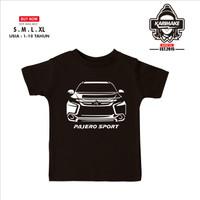 Kaos Baju Anak Mobil Mitsubishi New Pajero Sport Kaos Anak - Karimake