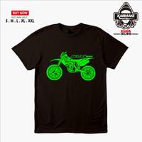 Kaos Baju Motor Kawasaki KLX 150 Trail Kaos Otomotif - Karimake