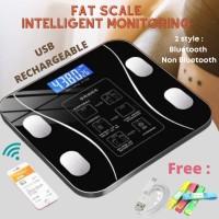 SONGYING - Timbangan Badan Digital Body Scale Body Fat Monitor Analysi