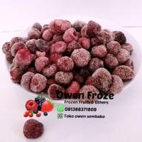 Raspberry Hitam Buah Beku