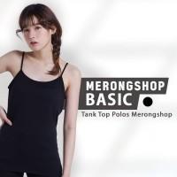 Tank Top Polos Shelfbra Merongshop - Black