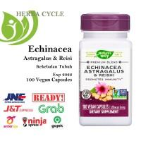 Natures Way Echinacea Astragalus Reishi 400mg 100 Veg Sup. Daya Tahan