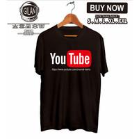 Kaos Baju Youtube Bisa Pake Link Channel Kamu Kaos Internet -