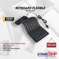 Keyboard Mini Flexible USB/ Keyboard Gulug