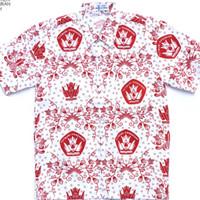 Seragam Sekolah Baju SD Batik Merah Lengan Pendek