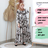 PENDA MAXI Baju Atasan Muslim Wanita Gamis Dress Fashion Wanita Cewek