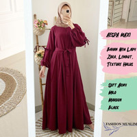 AESPA MAXI Baju Atasan Muslim Wanita Gamis Dress Wanita Fashion Muslim