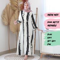 MACHA MAXI Baju Atasan Muslim Wanita Gamis Dress Fashion Wanita Cewek