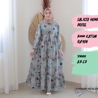 CALISTA HOMEY DRESS Baju Atasan Muslim Wanita Gamis Dress Wanita Cewek