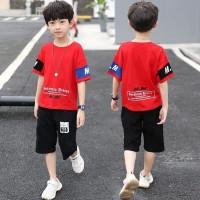 Baju Setelan Anak Laki-laki/Cowok Korea 4-8 Tahun Import HQ NJ-MM44