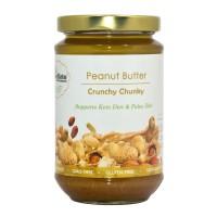 SuperKeto Crunchy peanut butter