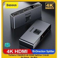 BASEUS HDMI Splitter Switcher 4K 60Hz Audio Adaptor PS4 TV Box Laptop
