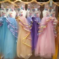 Gaun Pesta Anak Perempuan / Dress Tutu Unicorn / Baju Ultah Party