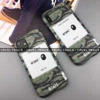 WTAPS x BAPE Iphone Case X XR XS 11 PRO MAX 7 8 Plus A Bathing Ape