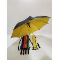 Payung Golf Jumbo Rangka Fiber Bahan Nylon Anti UV