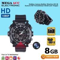 Spy Cam Camera Jam Tangan Night Vision FULL HD 8GB - Infrared