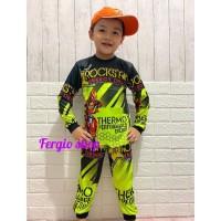 Stelan anak trail motor cross/stelan baju sepeda gunung anak umur 4-7