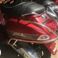 Side bar body Protector Vespa S & Lx.. Crashbar vespa Lx & S..