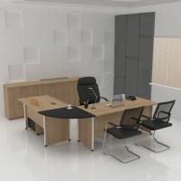 Meja Kantor-Meja Kerja-Powell 1-Molek_Furniture - 120X60X75 Cm