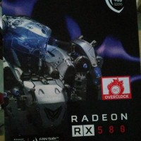 Sapphire Nitro + Radeon RX 580 4 GB